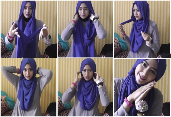tutorial hijab Natasha Farani