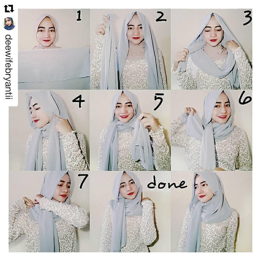 Tutorial Hijab Pashmina Panjang Dan Lebar Tutorial Hijab Paling
