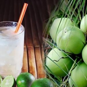 jeruk nipis dan air kelapa
