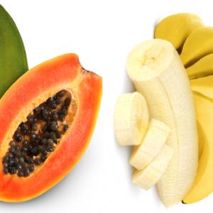 pepaya dan pisang