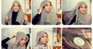 Hijab Pashmina Sifon Dian Pelangi Terbaru