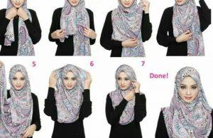 Hijab Pashmina Sifon Simple dan mudah