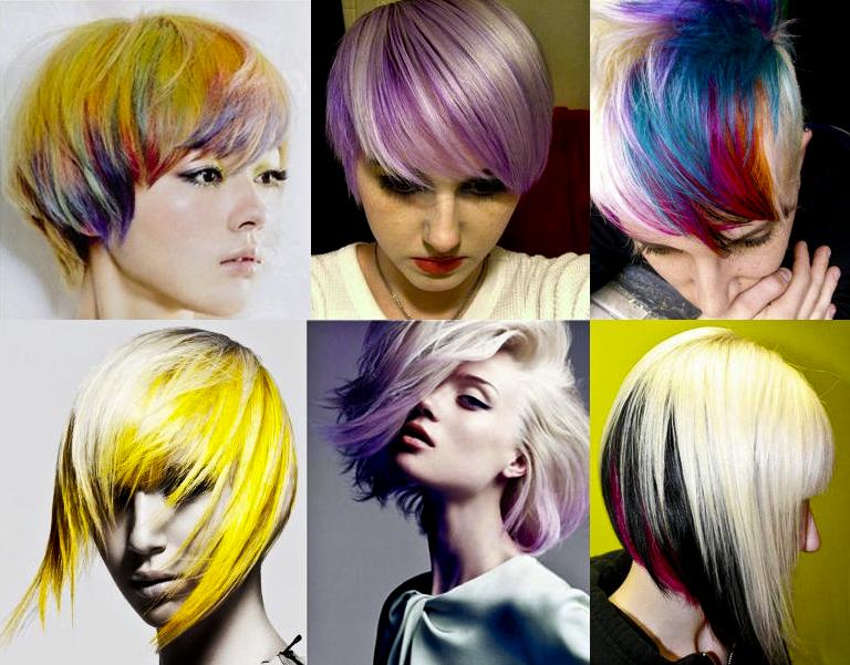 warna rambut ombre pendek