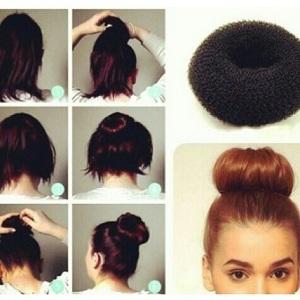 Cara Membuat Sanggul Modern Dari Rambut Sendiri