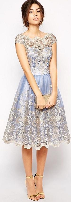 Wow Beberapa Contoh Model Dress Kebaya Modern