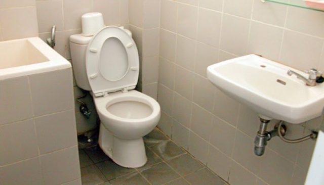 kebersihan kamar mandi