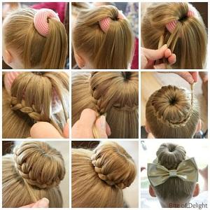 Cara Membuat Sanggul Rambut Pendek Dengan Mudah