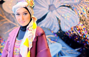Contoh Model Baju dress Muslim Terbaru