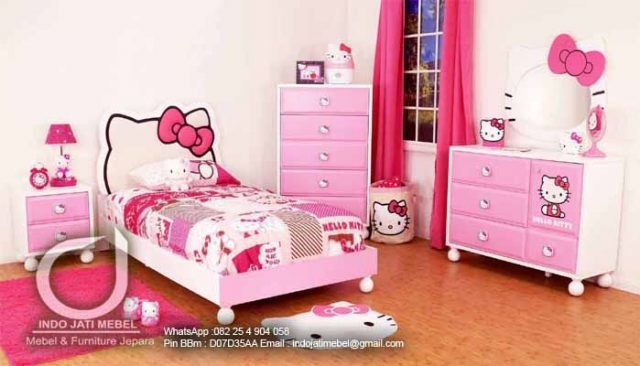 Tips Dalam Desain Kamar Tidur Untuk Anak Perempuan